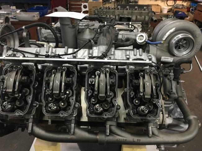 Reconditionnement moteur DC16 Scania 580